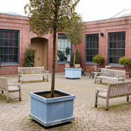 Fazeley Studios Courtyard